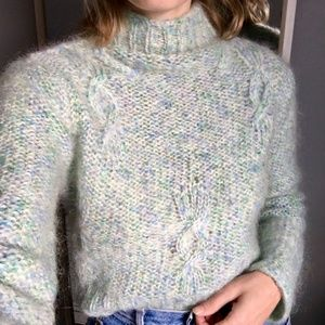 [Vintage] Pastel Mohair Sweater